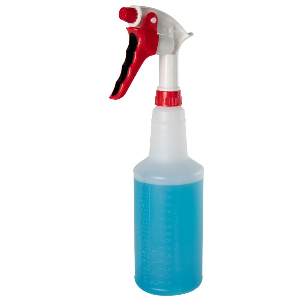 32 oz. Spray Bottle with Red & White Sprayer