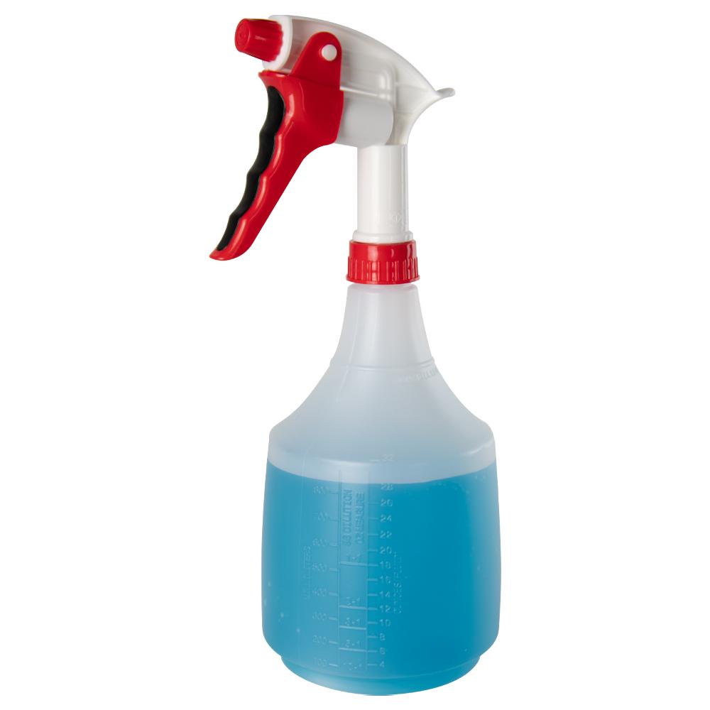 36 oz. Spray Bottle with Red & White Sprayer