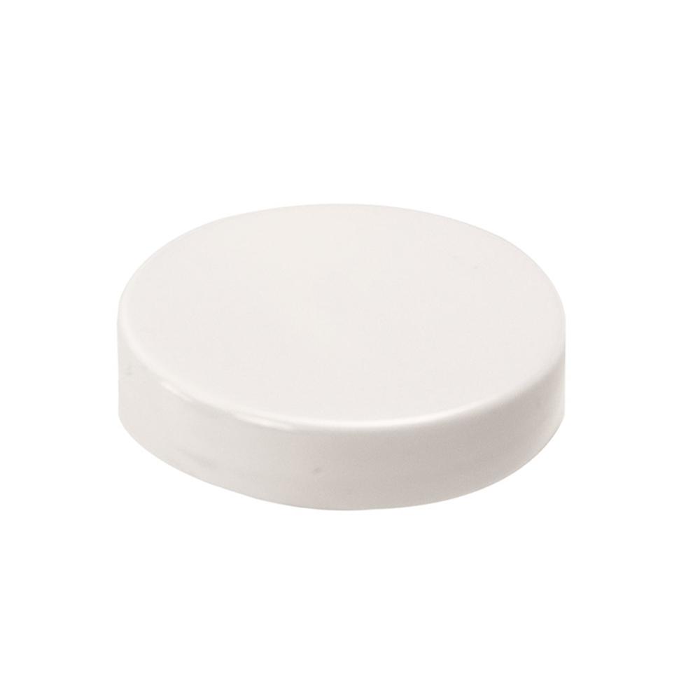 53/400 White Polypropylene Linerless Cap