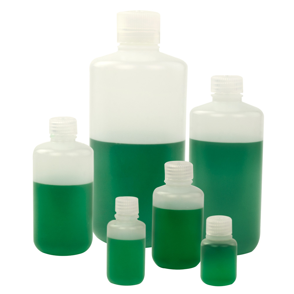 391cb3b9fffc Thermo Scientific™ Nalgene™ Narrow Mouth Economy HDPE Bottles with ...