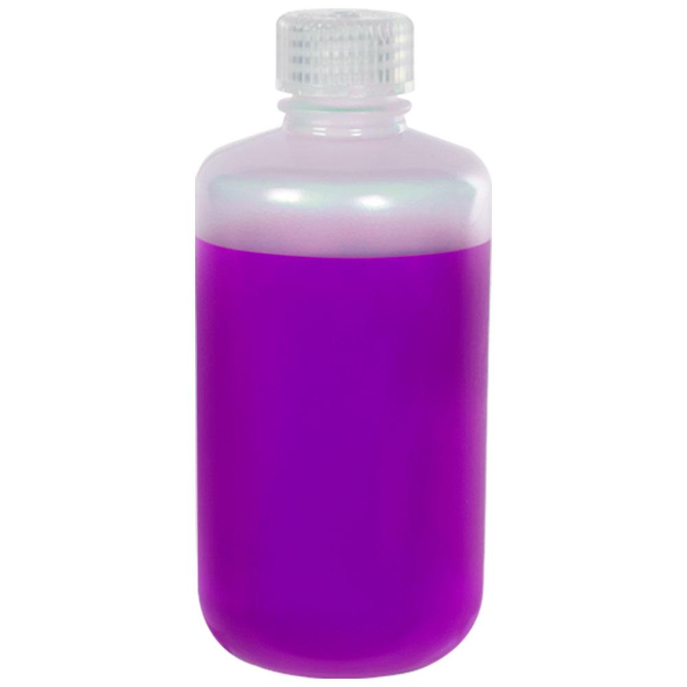 8 oz./250mL Nalgene™ Narrow Mouth Polypropylene Bottle with 24mm Cap