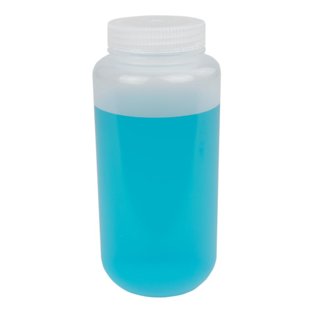 32 oz./1000mL Nalgene™ Lab Quality Wide Mouth Polypropylene Bottle with 63mm Cap