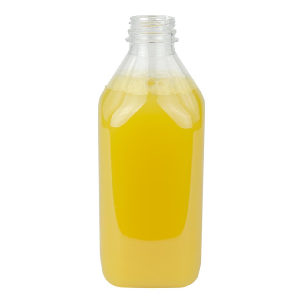 PET Square Beverage Bottle with STT Neck