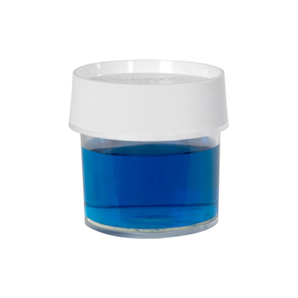 4 oz./125mL Nalgene™ Straight Sided Polymethylpentene Jar with 70mm Cap