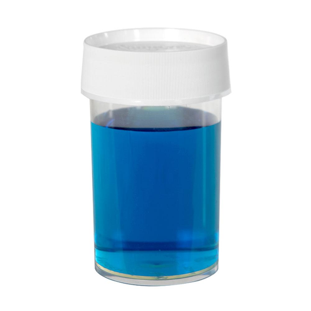 8 oz./250mL Nalgene™ Straight Sided Polymethylpentene Jar with 70mm Cap