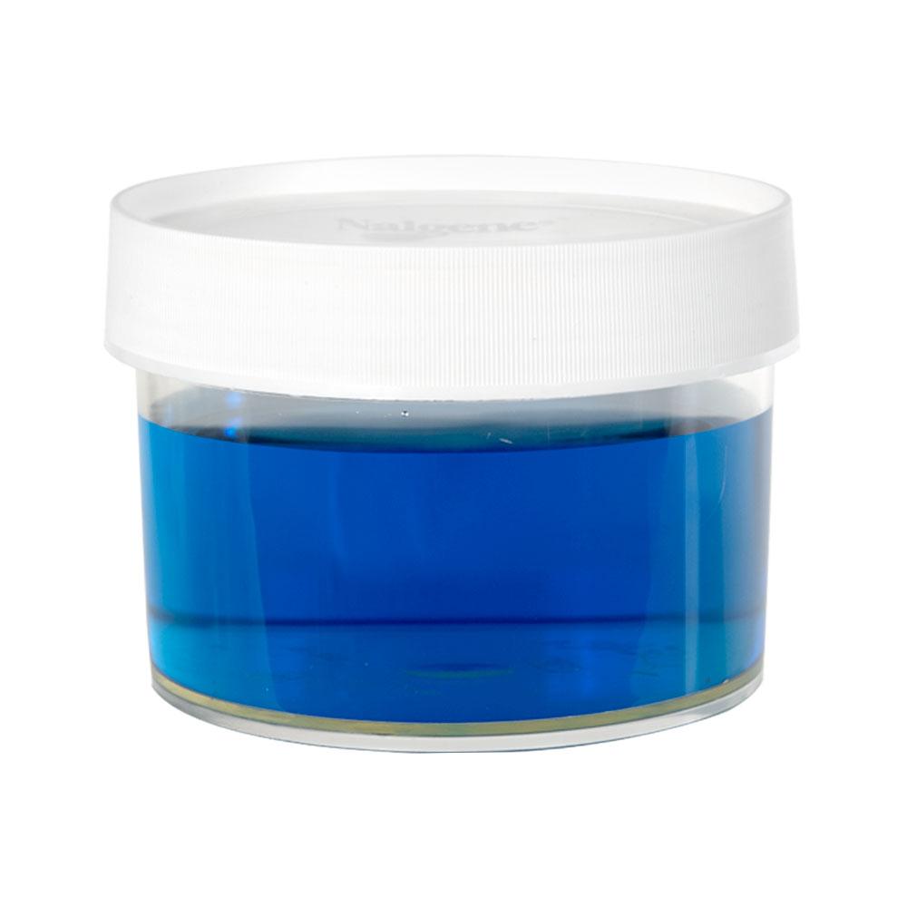 16 oz./500mL Nalgene™ Straight Sided Polymethylpentene Jar with 120mm Cap