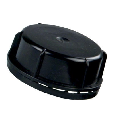 50mm (DIN 50) Tamper Evident Black Cap