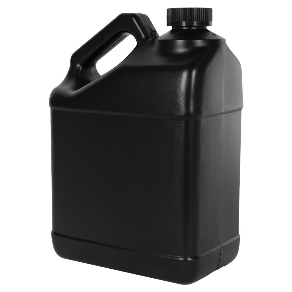 128 oz. Black F-Style Jug with 38/400 CRC Cap