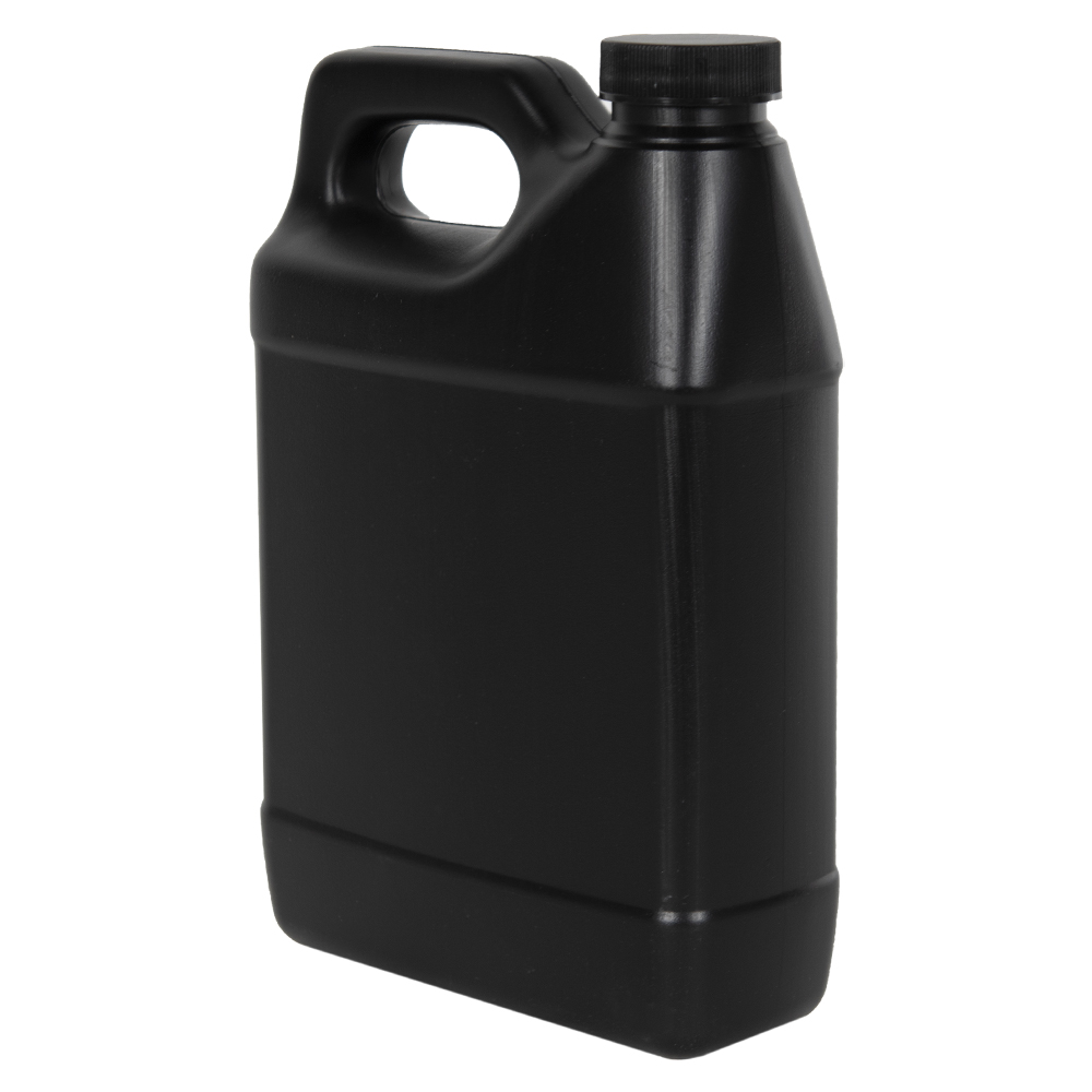 32 oz. Black F-Style Jug with 33/400 Plain Cap