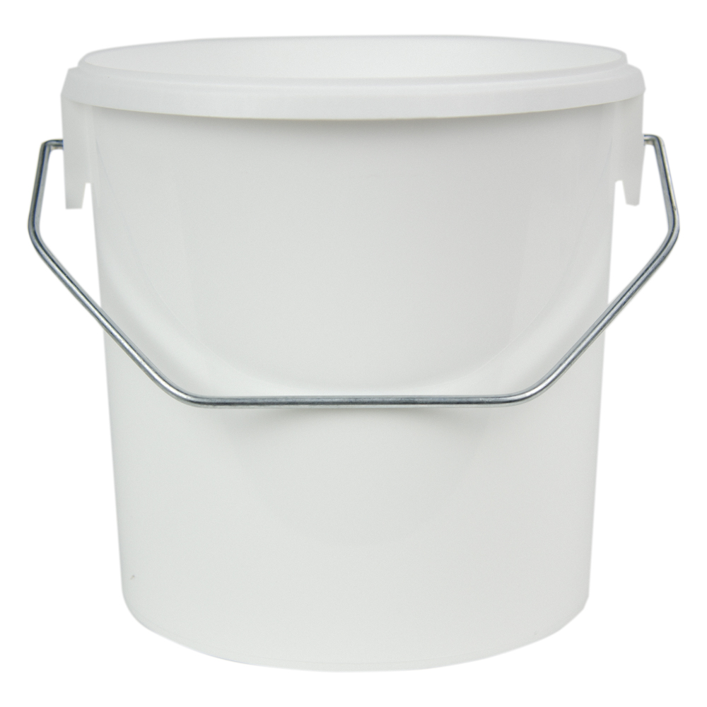 70 oz. White Flex Off Container with Handle (Lid Sold Separately)
