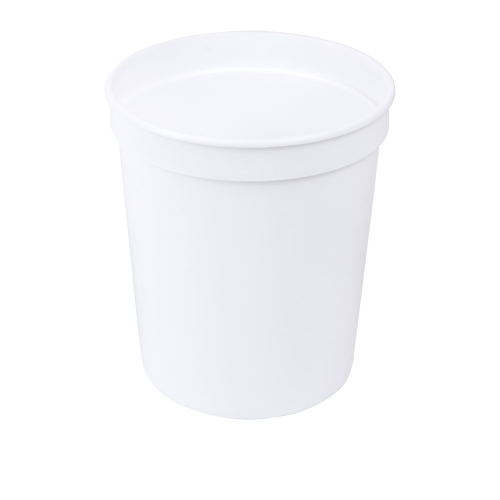 32 oz. White Polypropylene Container (Lid Sold Separately)