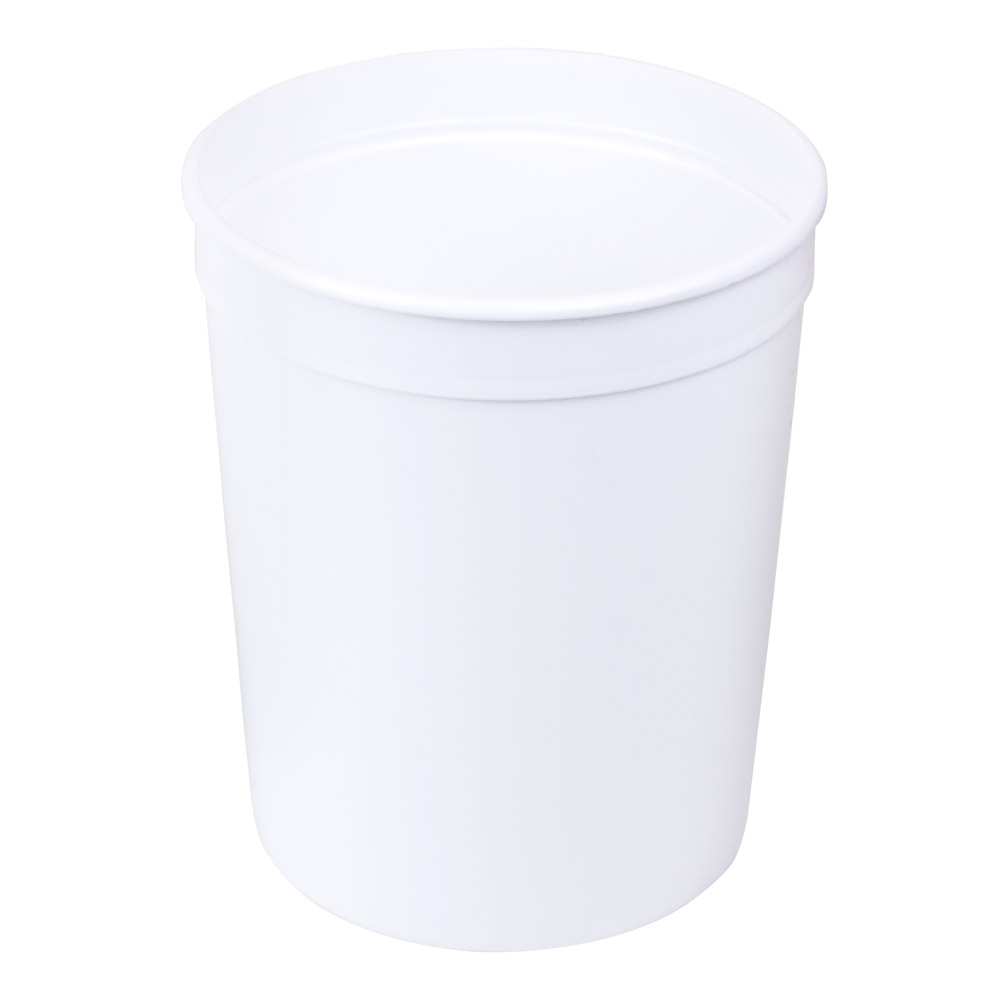 80 oz. White Polyethylene Container (Lid Sold Separately)