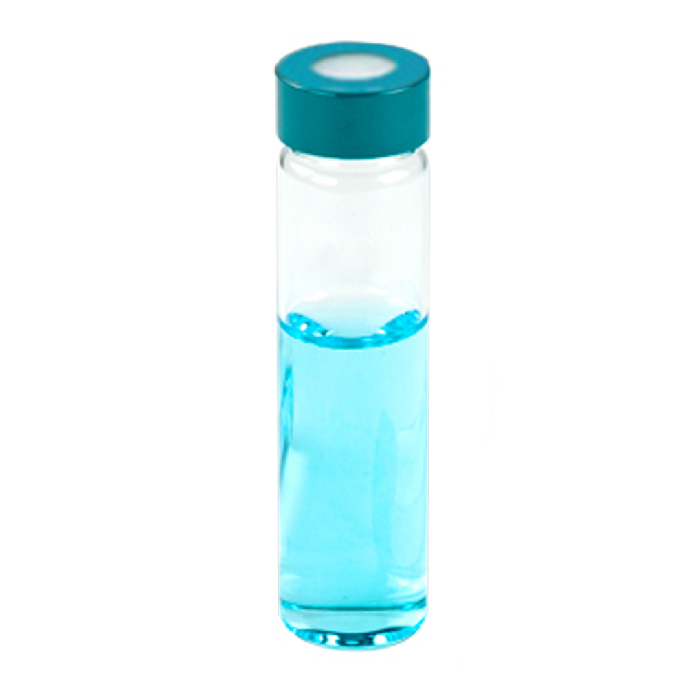 1-1/3 oz. Glass Vial with PP Hole  Cap
