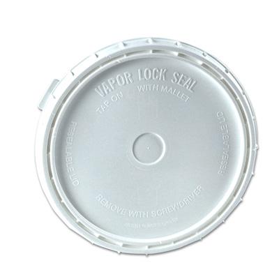 White Lid for VaporLock 2 Gallon Bucket