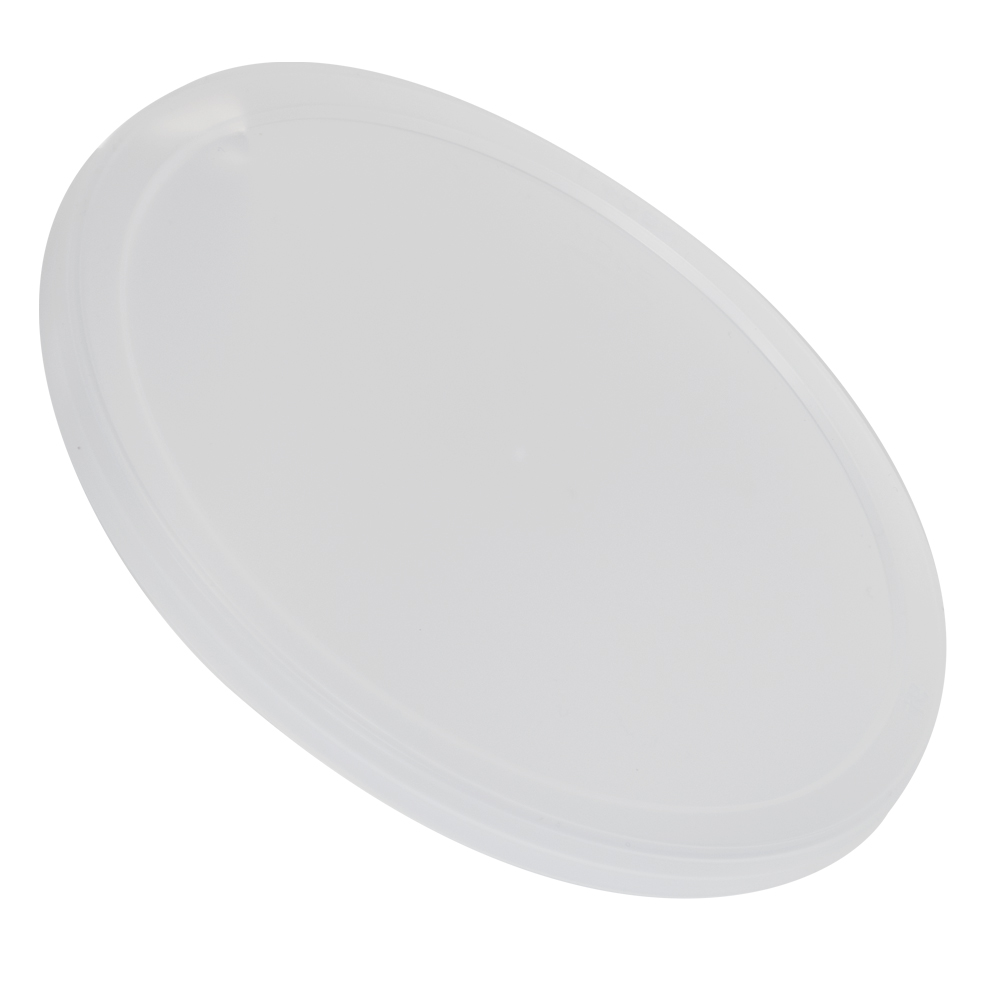 Natural LLDPE Short Round Flat Lid