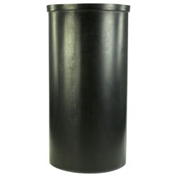 "80 Gallon Black Heavy Weight Tank - 24"" Dia. x 48"" High (Cover Sold Separately)"