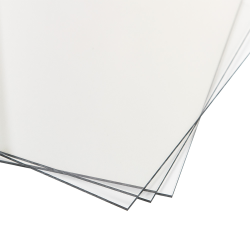 "0.118""(3.0mm) x 12"" x 12"" TUFFAK® Polycarbonate Sheet"