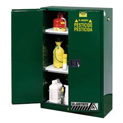 45 Gallon Manual-Close Justrite® Sure-Grip® EX Cabinet for Pesticides