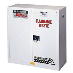 Justrite® Sure-Grip® EX Cabinets for Flammable Waste
