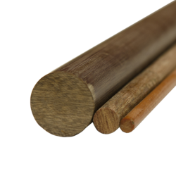 "1-1/4"" Grade LE Phenolic Rod"