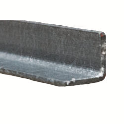"3"" x 1/4"" Fibergrate Dynaform® Equal Leg Angle; Grey"