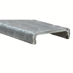 "4""x 1-1/8"" x 1/4"" Fibergrate Dynaform® Channel"