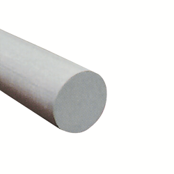 "1/2"" Fibergrate Dynaform® Round Rod, White"