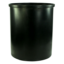 "100 Gallon Black Heavy Weight Tank - 30"" Dia. x 36"" High (Cover Sold Separately)"