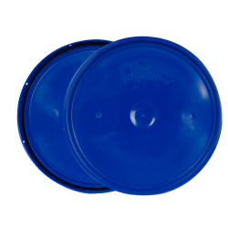 Chevron Blue 2 Gallon Lid with Tear Tab