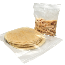 "6"" x 4"" x 2 mil Snack Size Reclosable Bags"