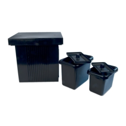 HDPE Tanks with Covers