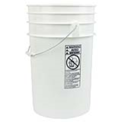 6.5 Gallon Buckets & Lids