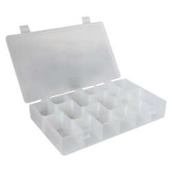 """Infinite Divider System™ w/10 Dividers/6 Compartments -  11"""" L x 6-3/4"""" W x 1-3/4"""" Hgt."""