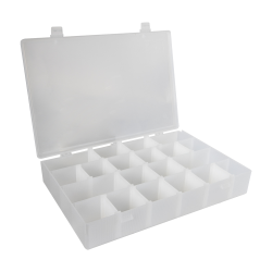Infinite Divider System™ w/16 Dividers/4 Compartments - 13-1/2