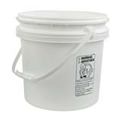 4 Gallon Buckets & Lids