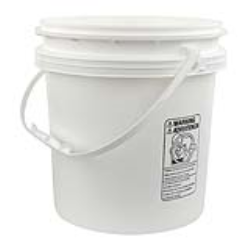 4.25 Gallon Buckets & Lids