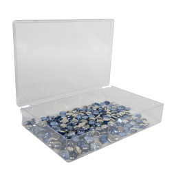 K-Series™ Styrene 1 Compartment Box - 13-1/8
