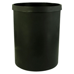 "55 Gallon Black Heavy Weight Tank - 24"" Dia. x 31"" High (Cover Sold Separately)"