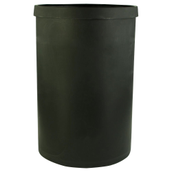 "65 Gallon Black Heavy Weight Tank - 24"" Dia. x 36"" High (Cover Sold Separately)"
