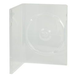 Single Amaray® Ultra Clear Premium DVD Case with Y Hub