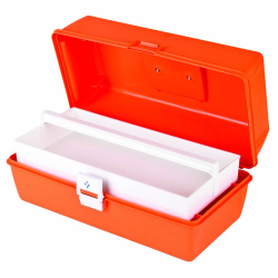 """First Aid Case with 1 Compartment - 15"""" L x 6-3/4"""" W x 6-1/2"""" Hgt."""