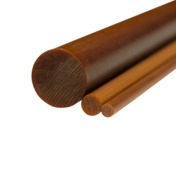 "1-1/4"" Grade XXX Phenolic Rod"