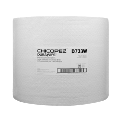"13.1"" x 12.6"" White Medium-Duty Wipers 80 gsm - 650 Wipes/Jumbo Pack"