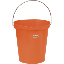 Vikan ® Polypropylene Orange 3 Gallon Pail