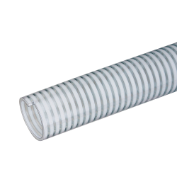 "1-1/2"" ID x 1.79"" OD MILK-LT™ PVC Liquid Suction Hose"