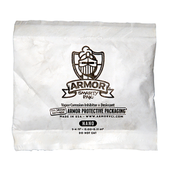 1/6 oz. ARMOR SHIELD™ Clay Tyvek® Desiccants - Bundle of 1200
