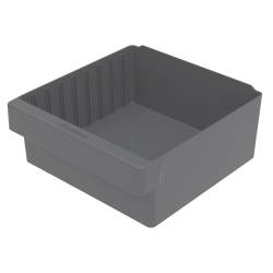 "11-5/8"" L x 11-1/8"" W x 4-5/8"" Hgt. Gray AkroDrawer® Storage Drawer"