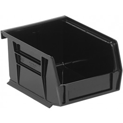 "Black Quantum® Ultra Series Recycled Stack & Hang Bin - 5-3/8"" L x 4-1/8"" W x 3"" Hgt."