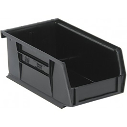 "Black Quantum® Ultra Series Recycled Stack & Hang Bin - 7-3/8"" L x 4-1/8"" W x 3"" Hgt."