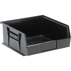 "Black Quantum® Ultra Series Recycled Stack & Hang Bin - 10-7/8"" L x 11"" W x 5"" Hgt."